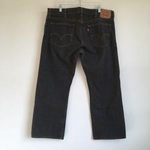 Men's 514 Levi's slim straight 40X 30 Black